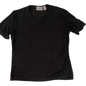 Chico's Travelers Short Sleeve Top Size 1/Small